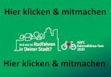 Werbebanner ADFC-Fahrradklima-Test 2020